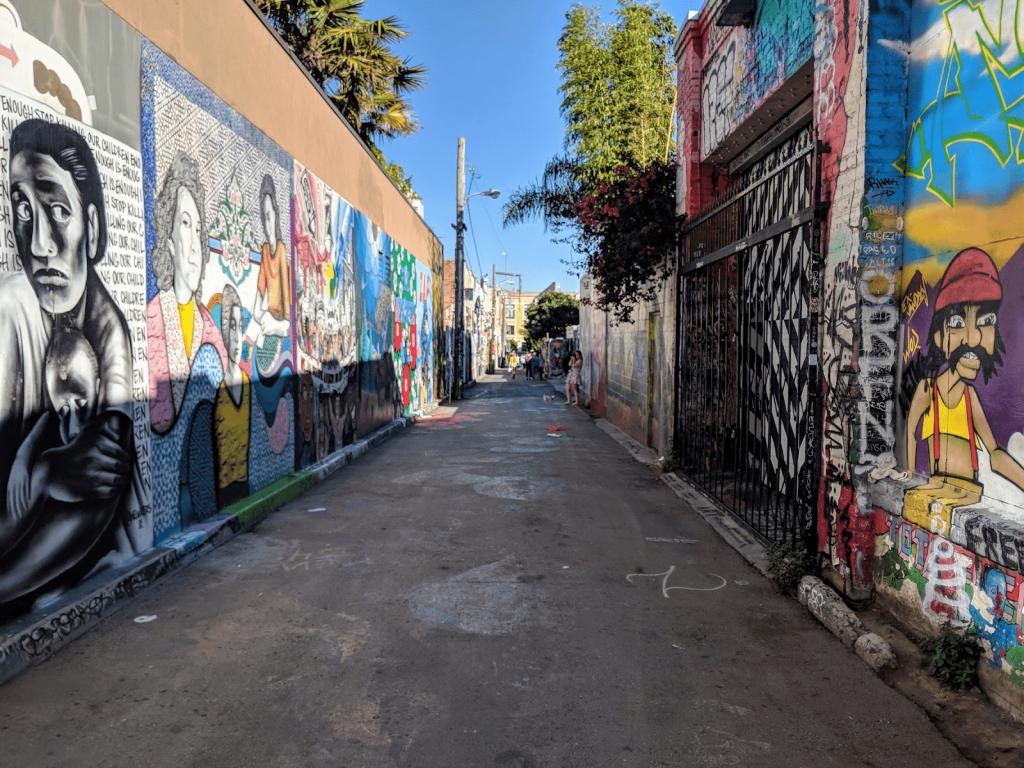 San Francisco Street Art | Balmy Alley | Clarion Alley
