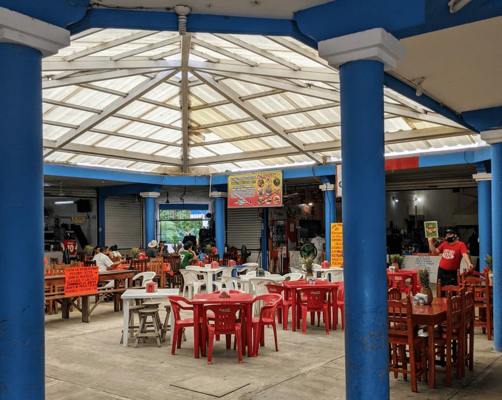 Where to Eat in Tulum: Cocina Las Veracruzanas in Mercado Tulum