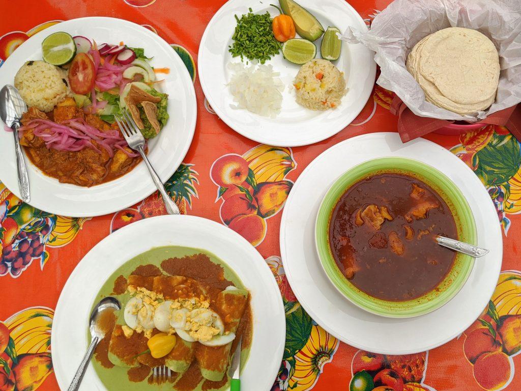 Where to eat in Tulum: Cocina economica Dumbo