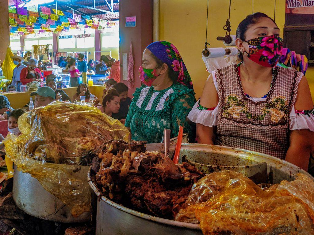 Oaxacan Food | Traditional Oaxaca Food | Barbacoa | Tlacolula Market