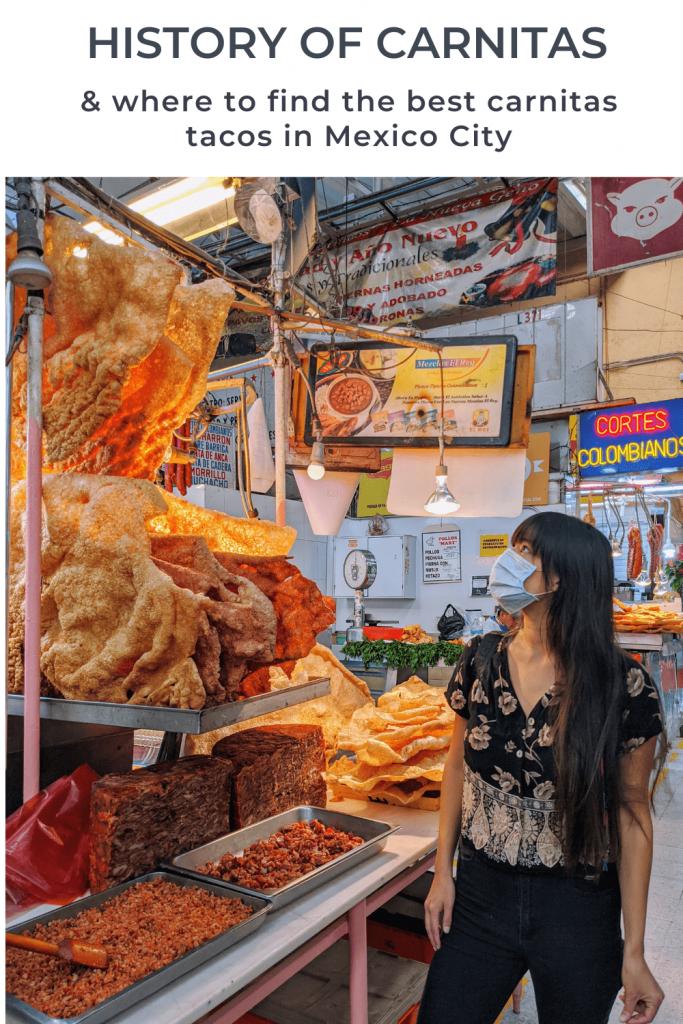 Carnitas history | Carnitas Mexico City | Mercado Medellin