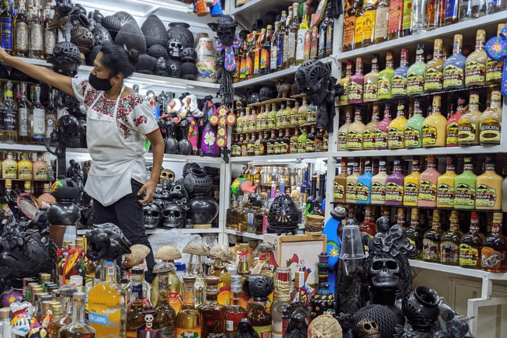 Oaxacan Food | Traditional Oaxaca Food | Mezcal | Mercado Benito Juarez