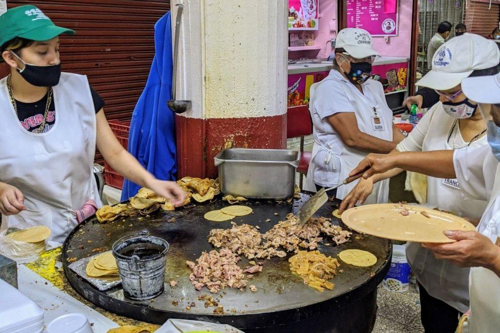 Carnitas history | Carnitas Mexico City | Coyoacan Market | Carnitas El Charro