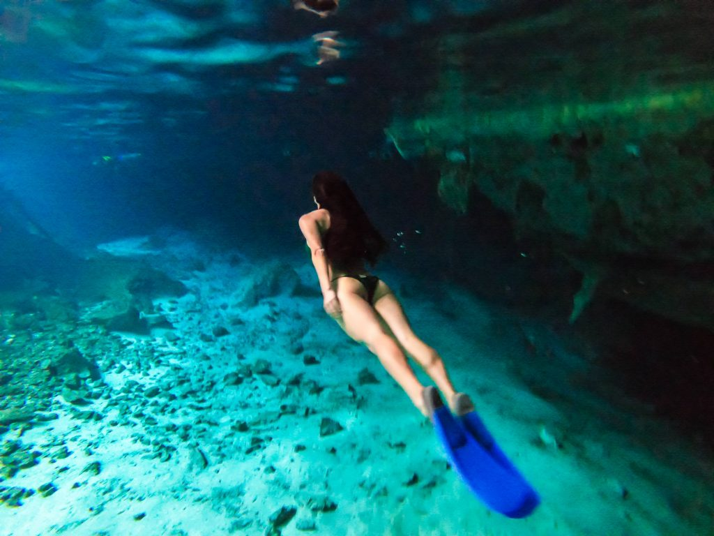 Tulum Guide: Things to Do in Tulum. Cenote Dos Ojos