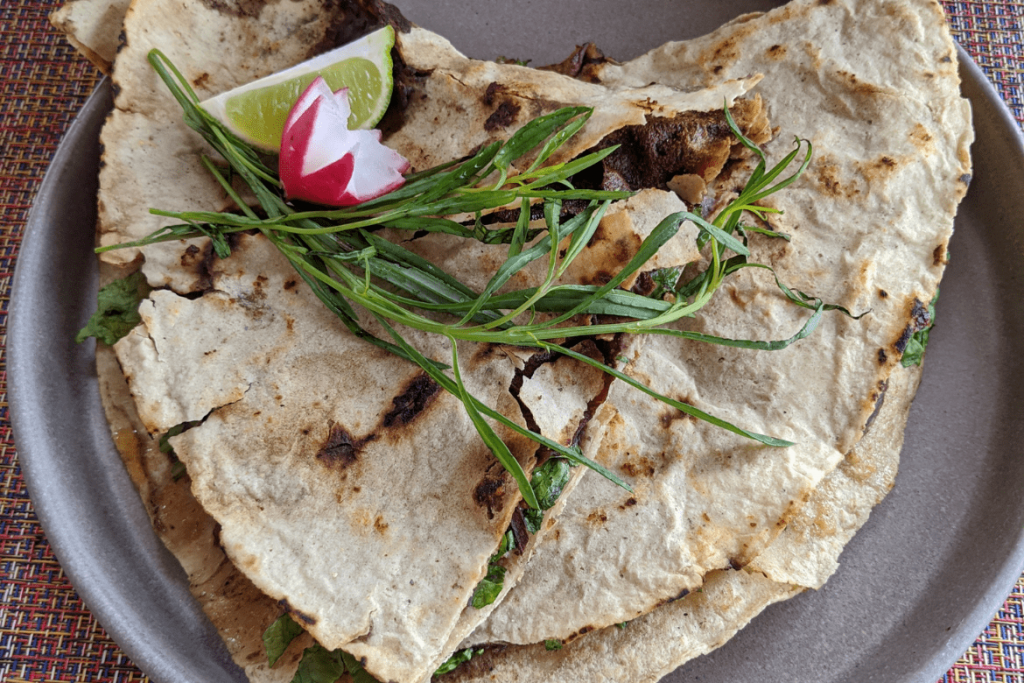 Oaxacan Food | Traditional Oaxaca Food | Tlayudas