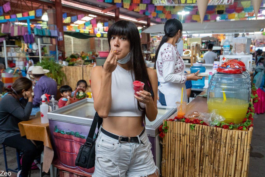 Oaxacan Food | Traditional Oaxaca Food | Nieves | Tlacolula Market