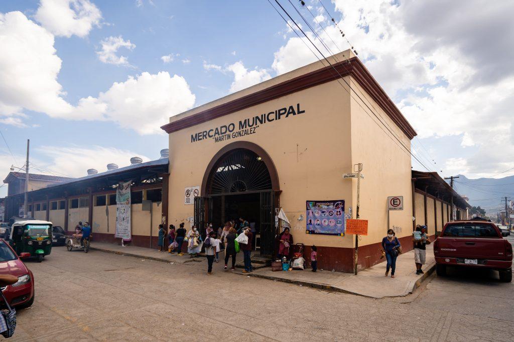 Tlacolula Market Exterior