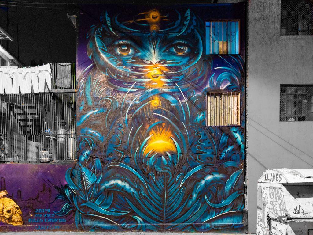 Mexico City Street Art | Mexico City Mural | Doctores