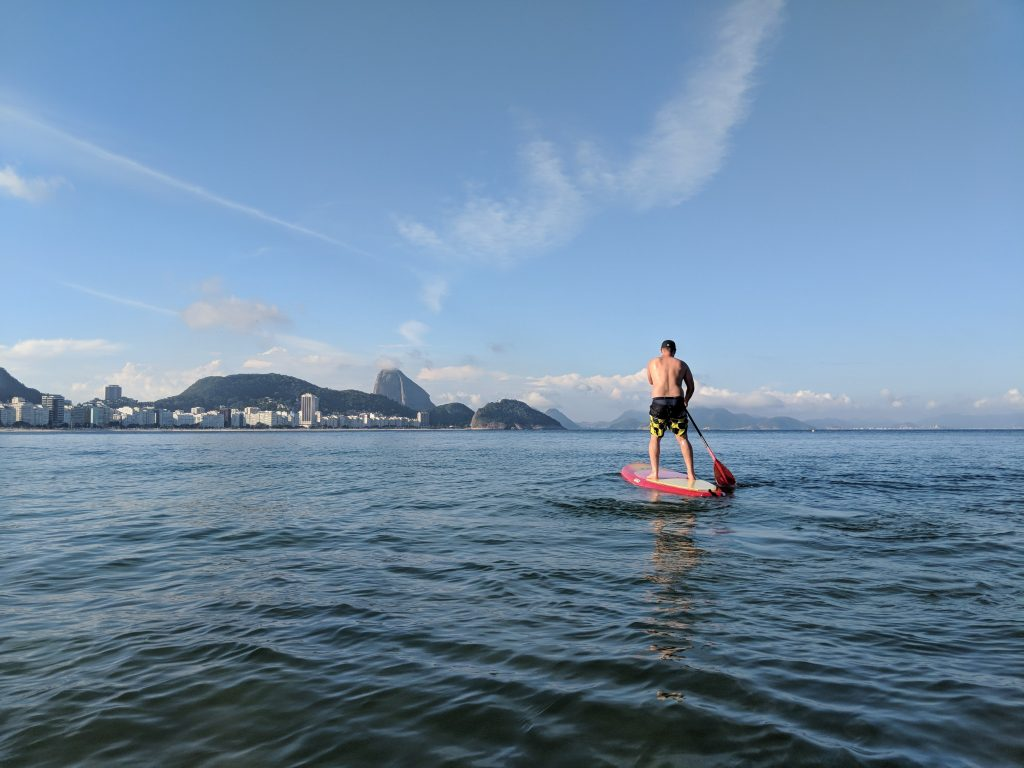 Best things to do in Rio | 4-day Itinerary | Paddleboard in Copacabana