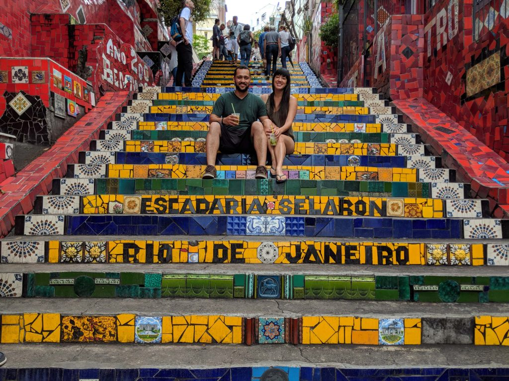 Best things to do in Rio | 4-day Itinerary | Escadaria Selaron