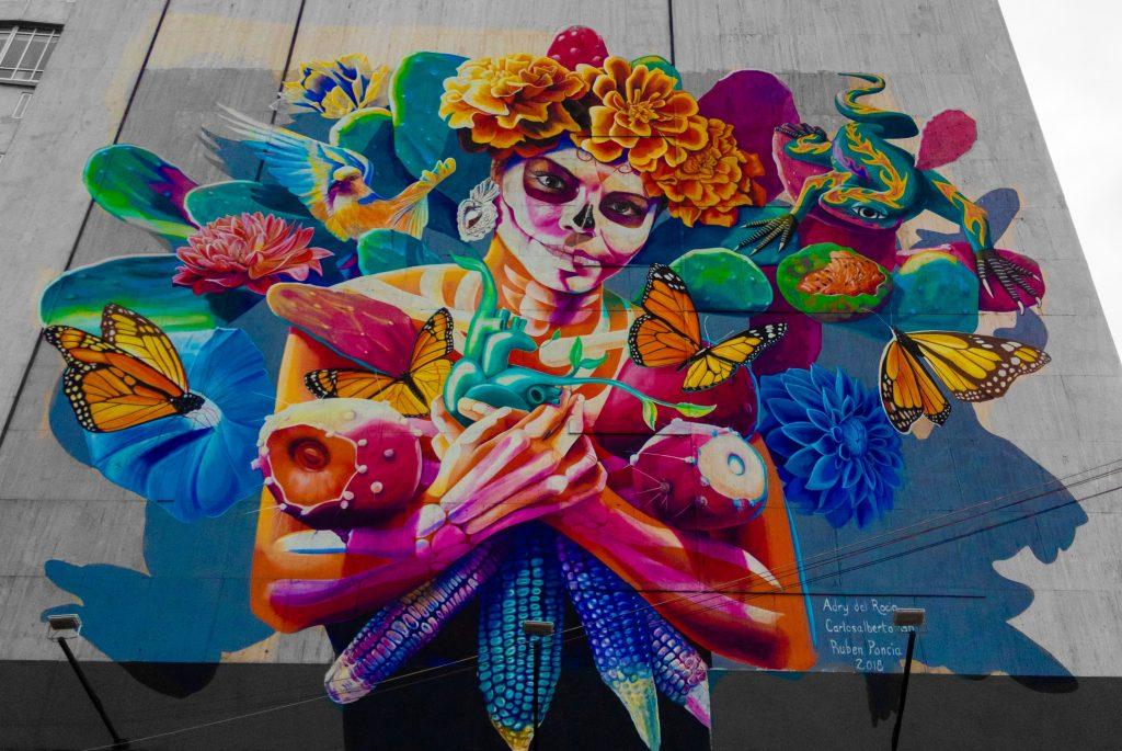 Mexico City Street Art | Mexico City Mural | Reforma | Av. Paseo de la Reforma