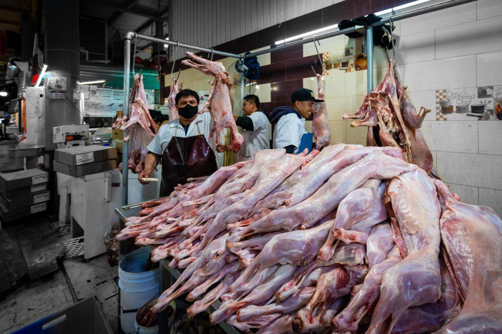 Best markets in Mexico City | Mercado de San Juan | Butcher