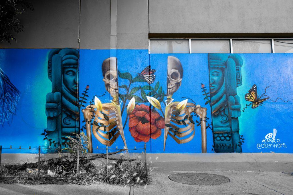 Mexico City Street Art | Mexico City Mural | Hospital General de Mexic (Doctores)