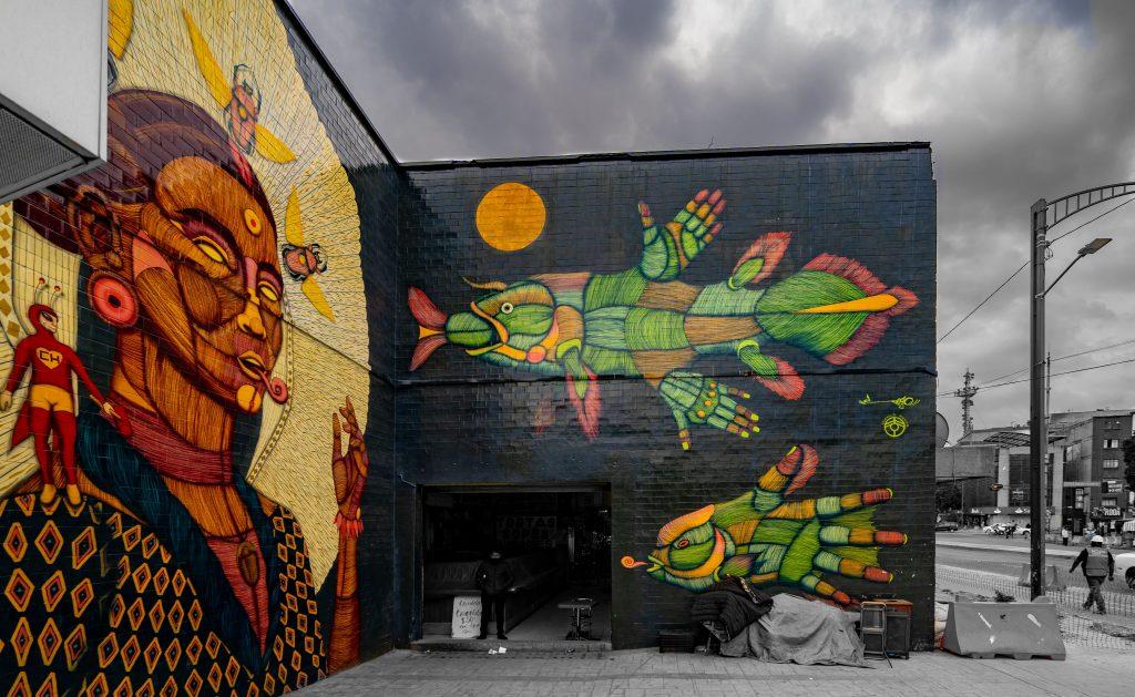 Mexico City Street Art | Mexico City Mural | Juarez | Mercado Juarez