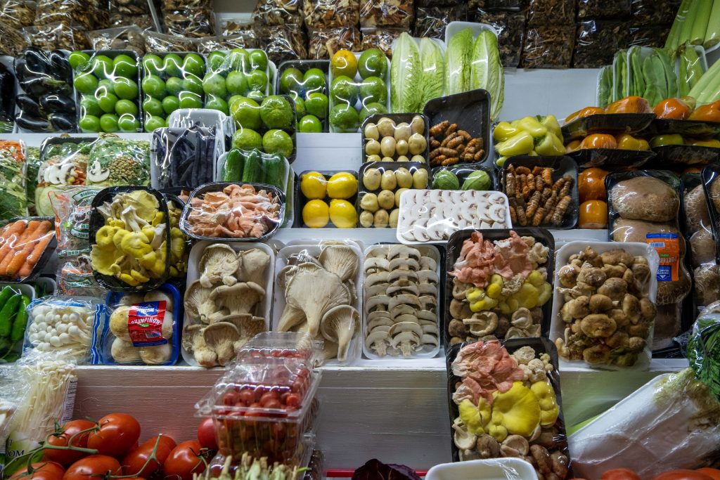 Mercado de San Juan | San Juan Market | Mushrooms