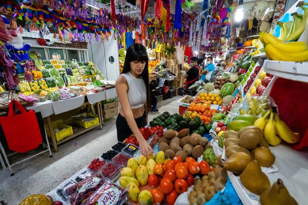 Mercado de San Juan | San Juan Market | Fruits & Vegetables