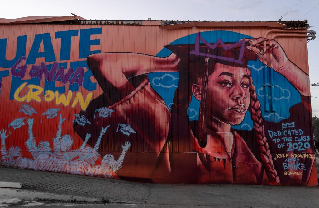 Murals and street art in New Orleans | Bywater