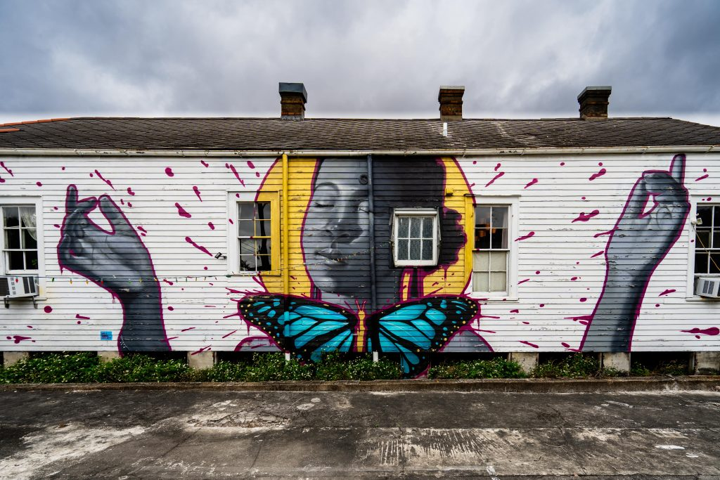Murals in New Orleans | St. Claude | Marigny