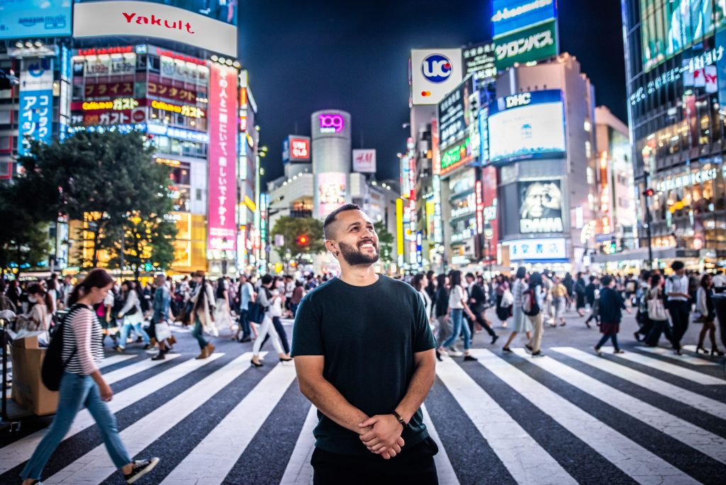 Airbnb Experience: Tokyo At Night Photography | Shibuya Crossing