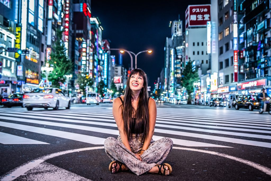 Airbnb Experience: Tokyo Night Photography | Tokyo, Japan | Intersection