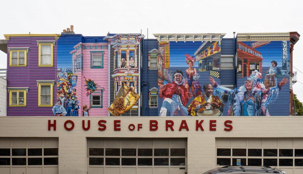 San Francisco Street Art | House of Brakes | 24th & South Van Ness