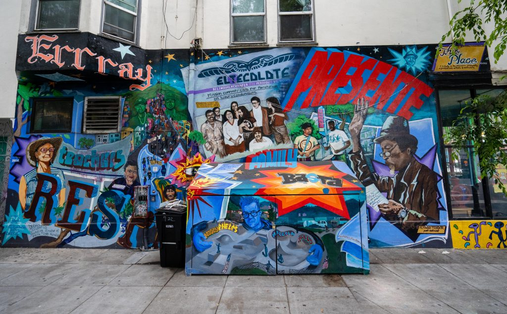 San Francisco Street Art | 24th Street & Shotwell