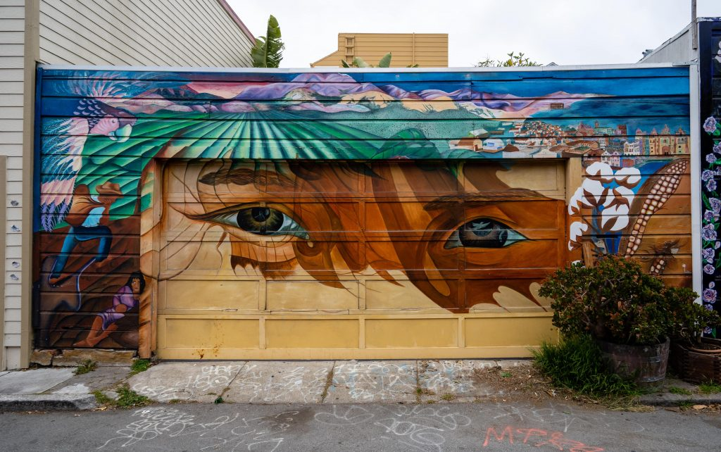 San Francisco Street Art | Balmy Alley | Mission District