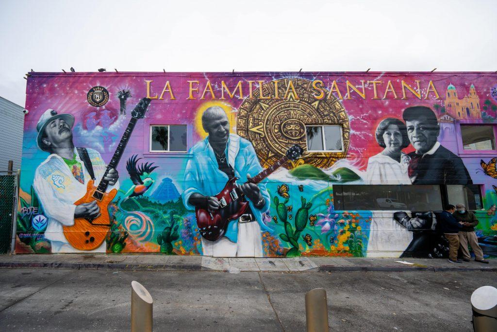 San Francisco Street Art | 24th Street Mission BART Station